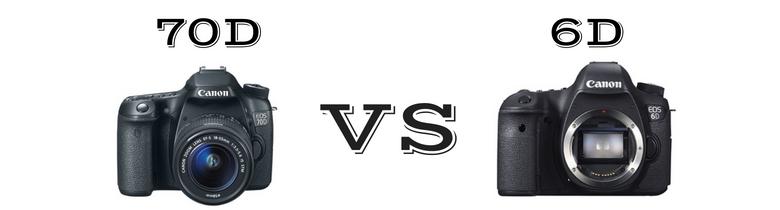 Canon 6D VS Canon 70D [2018 Comparison]