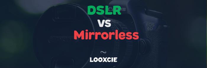 dslr vs mirrorless in video